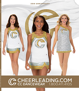 Request a copy of our 2020 Cheerleading Company Catalog - Our 20th Anniversary