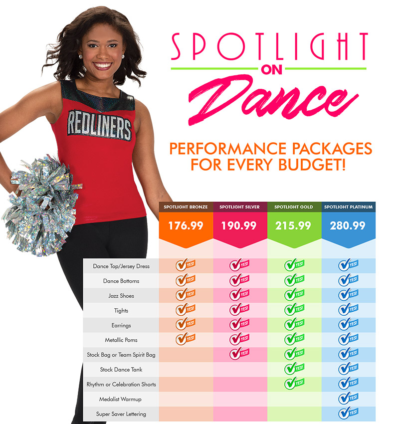Dance Spotlight Packages
