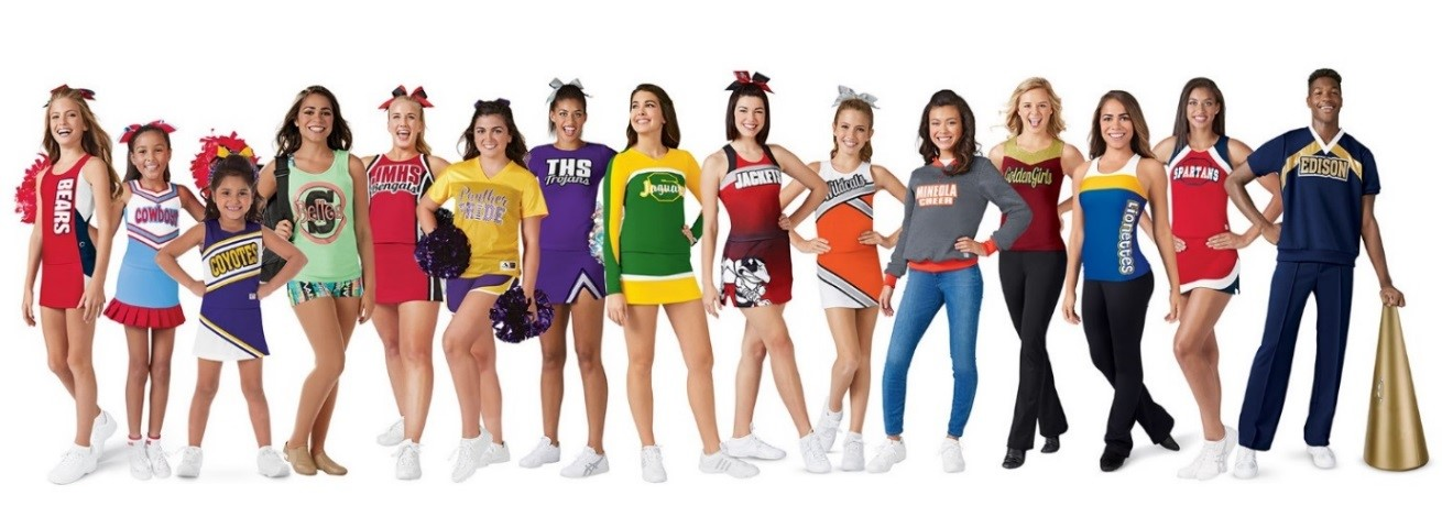 Cheerleading Uniforms to fit every budget, Dancewear, Dance Uniforms and Warmups