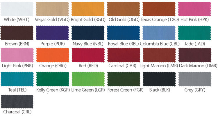 See More Color Swatches And Specialty Fabrics Here