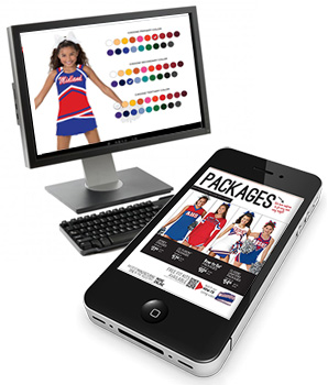 View our 2018 Cheerleading Company Catalog Online in YOUR Team Colors