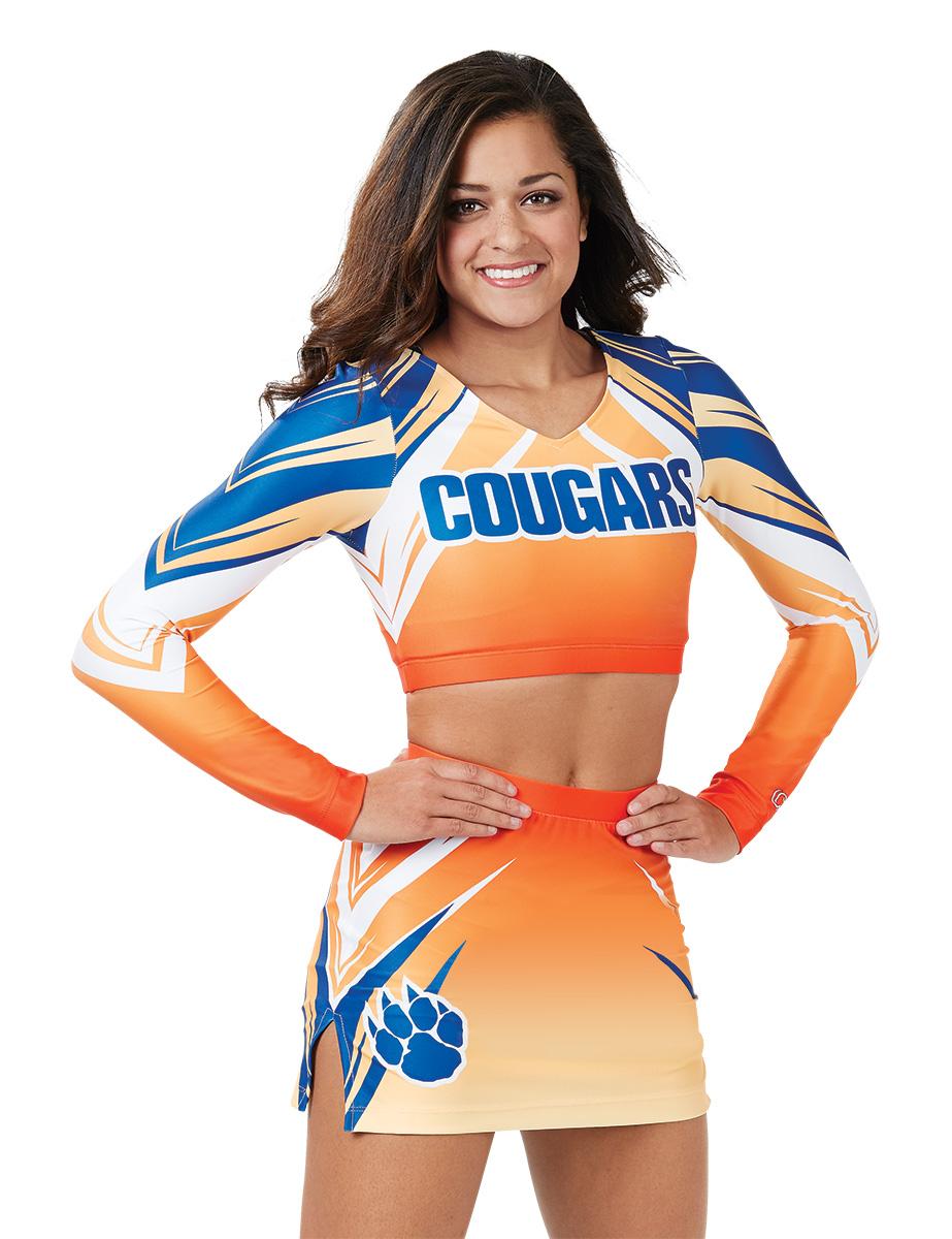 62d873664ab Collegiate Cheerleading Uniforms for College Cheerleaders