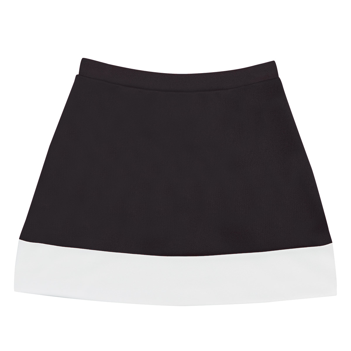Stock A-Line Skirt with Hem Inset