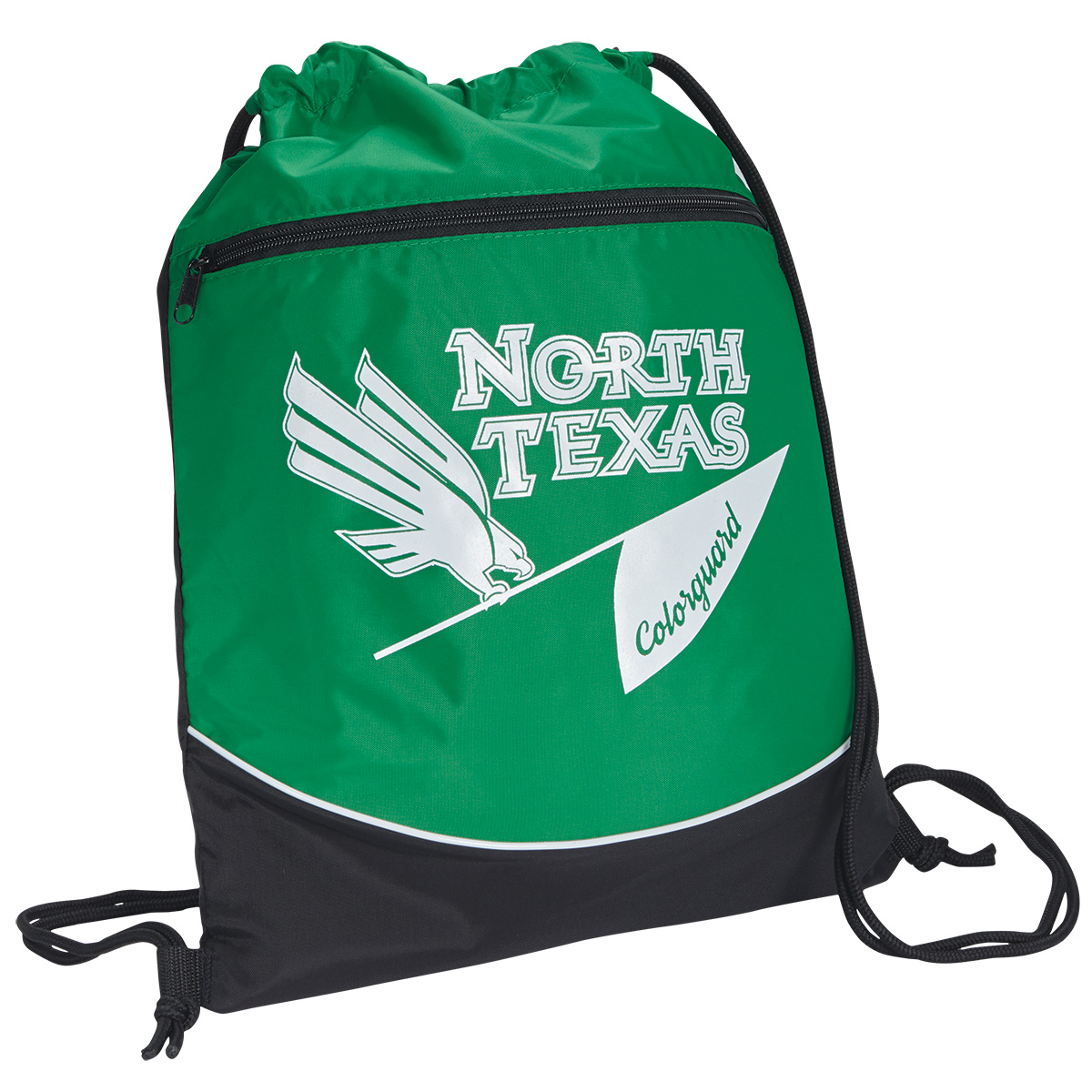 Tri-Color Drawstring Backsack