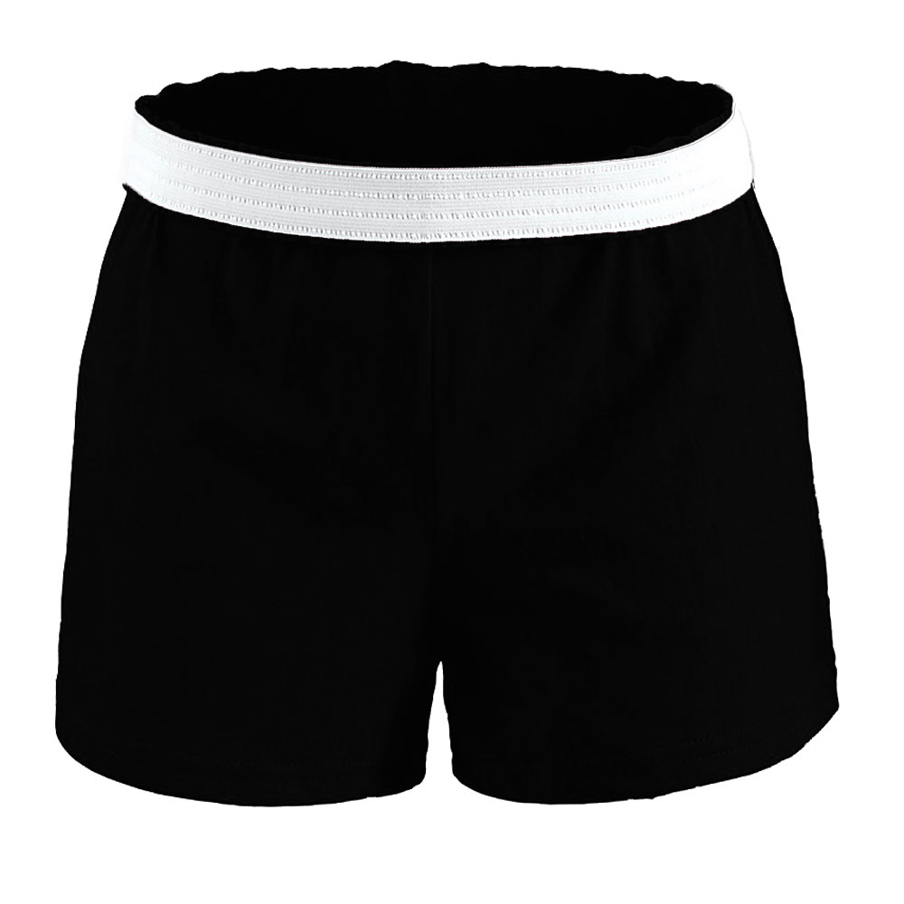 09897fd955ff7 ... Knit Cheer Practice Shorts by Soffe and BAW ...