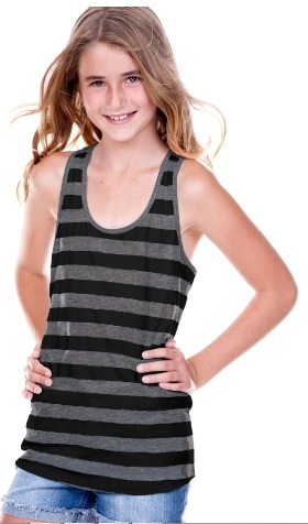 Kavio Striped Racerback Tank