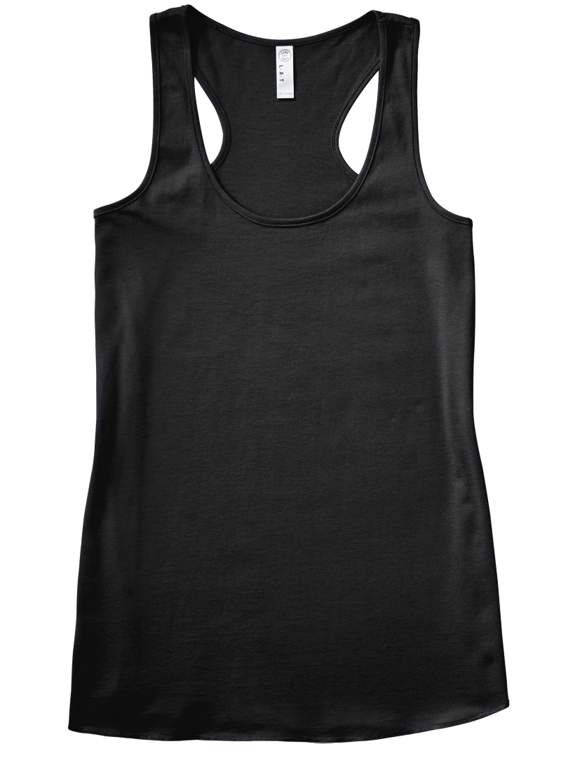 Solid Relaxed Racerback Tank