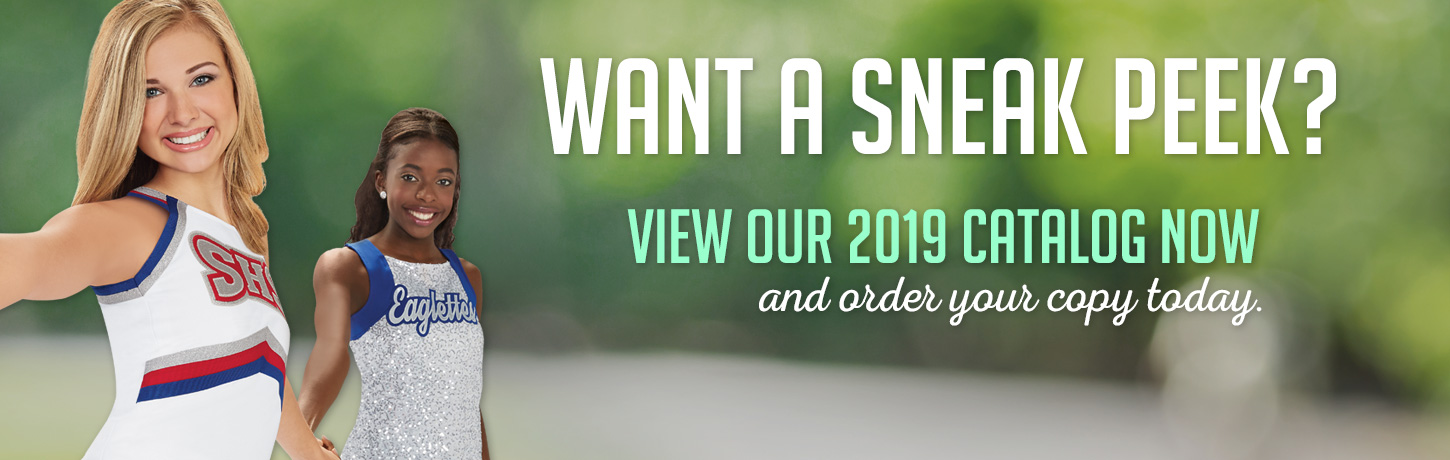 View Our 2019 Cheerleading.com Catalog. Classic Cheer Uniforms, CC Fusion Sublimated Cheerleading Uniforms, Bow To Tow Complete Uniform Packages, Jersey Dresses, and Competition Uniforms at discount prices. Order Our Catalog Today