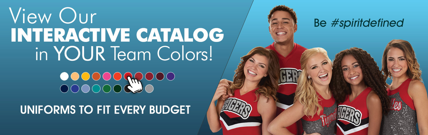 View Our 2019 Cheerleading.com Interactive Catalog. Classic Cheer Uniforms, CC Fusion Sublimated Cheerleading Uniforms, Bow To Tow Complete Uniform Packages, Jersey Dresses, and Competition Uniforms at discount prices. Order Our Catalog Today