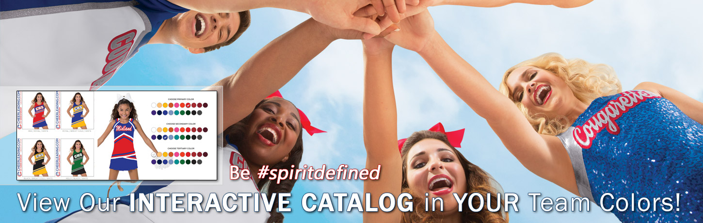 View Our 2018 Cheerleading.com Catalog in YOUR Team Colors. Classic Cheer Uniforms, CC Fusion Sublimated Cheerleading Uniforms, Bow To Tow Complete Uniform Packages, Jersey Dresses, and Competition Uniforms at discount prices. Order Our Catalog Today