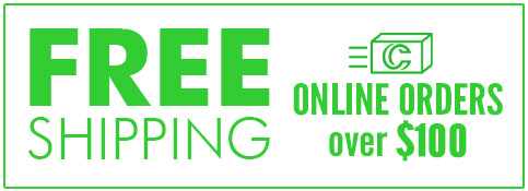 Free Shipping on Online Orders over $100