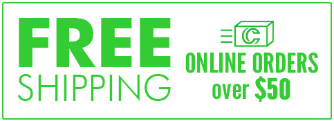 Free Shipping on Online Orders over $50