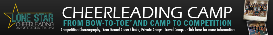 Lone Star Cheerleading Association Cheer Camps