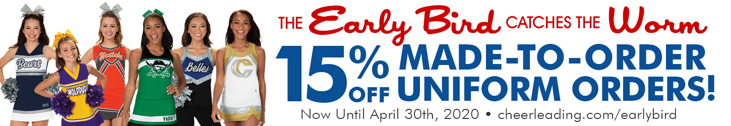 15% Off Made-To-Order Uniforms Now thru April 30th 2020