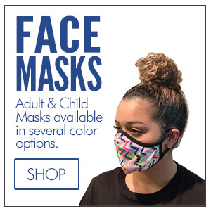 Face Masks and Face Coverings - Protect Yourself. Cheerleader Campwear, Cheer Shoes, Cheer Tees, Cheelrader T-Shirts, Cheerleading Poms, Cheer Bags, Soffe Shorts, Megaphones, Campwear Packages