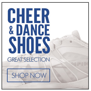 Cheerleading Shoes including Nfinity Cheer Shoes, Asics, Zephz, Kaepa and Fierce Feats Cheerleader Shoes