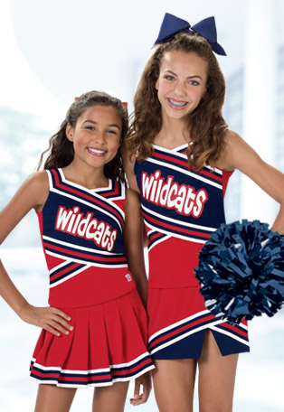 Cheerleading Uniforms to fit every Budget, Class Cheer Uniforms, CC Fusion Sublimated Uniforms, Jersey Dresses