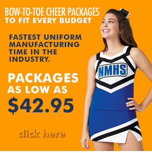 Bow To Toe Custom Cheerleading Uniform Package