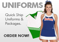 Cheerleading Uniforms, In Stock Uniforms, Custom Made to Order Cheerleading Uniforms. All Star Cheer, Competition Cheerleaders, Dance, College Cheer Uniforms - for Every Budget