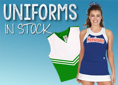 Cheerleading Uniforms, In Stock, Custom Made to Order Uniforms. All Star, Competition, Dance, College Cheer Uniforms
