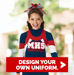 Cheerleading Company Uniform Design Coloring Tool
