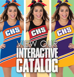 Interactive Catalog - See Our Catalog in YOUR Team Colors