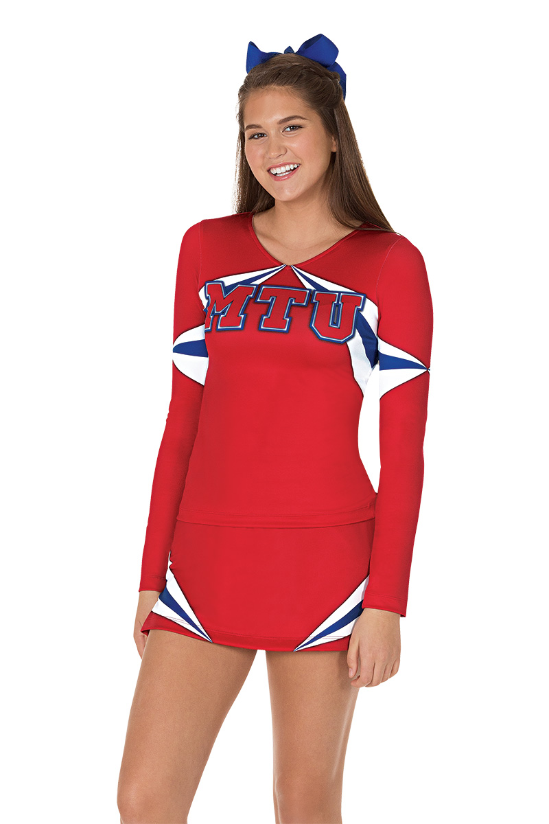 43926de87f8 Quality Cheerleading Uniforms with Options for Every Budget - Made ...