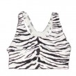 Zebra Pattern Bra Top