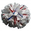 Made-to-Order Extra-Wide Streamer Plastic Glitter Show Poms