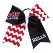 Extra Large Custom Chevron Team Bow