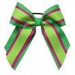 Large Custom Three Layer Short Tail Bow with Solid Grosgrain Ribbon