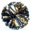 Made to Order 1 Color Plastic And 1 Color Metallic Mixed Material Show Pom