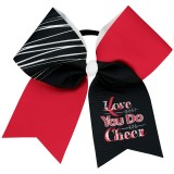 Love What You Do Cheer Bow
