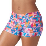 Mid-Rise Spectrum Geo Hot Shorts