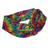 Stretchy Tie Dye Interlocking Headband