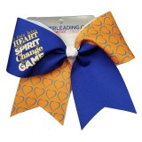 Heart and Spirit Cheer Bow