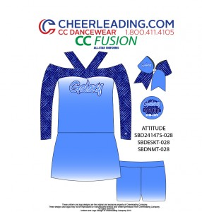CC Fusion Attitude Performance Top and Skirt Package