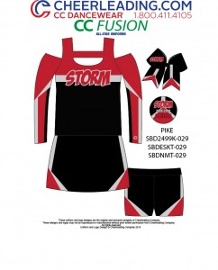 CC Fusion Pike Performance Top and Hot Shorts Package
