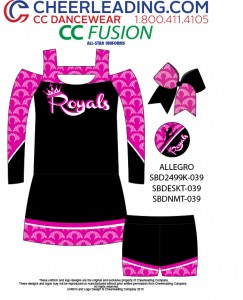 CC Fusion Allegro Performance Top and Skirt Package