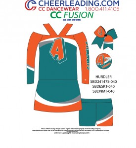 CC Fusion Hurdler Performance Top and Hot Shorts Package