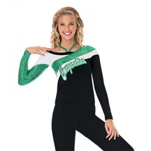 SpiritFlex Long Sleeve Strappy Top