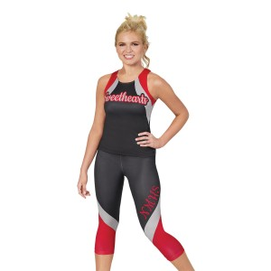 CC Fusion Arabesque Tank and Crop Leggings Package