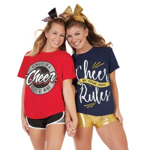 Cheer By Your Own Rules Tee
