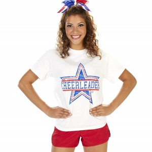 Stars & Stripes Cheerleader Tee