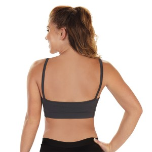 Specialty Fabric Cami Back Sports Bra