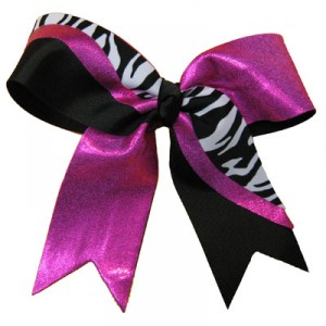 Large Custom Short Tail Strike Bow w/ Specialty Animal Print Material