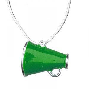 Color Megaphone Necklace