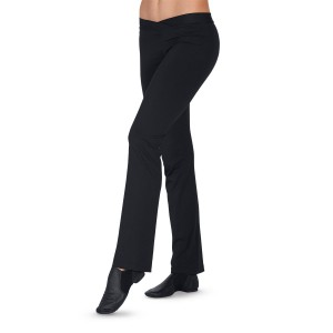 CC Dancewear Mid-Rise Smooth V-Waist Jazz Pant