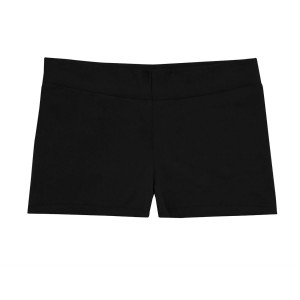 Mid-Rise Smooth Waist Hot Shorts