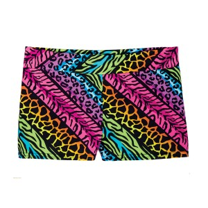 SpiritFlex Mid-Rise Smooth Waist Hot Shorts-Jungle Mania